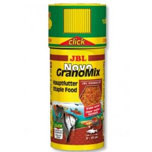 Корм для аквариумных рыб JBL NovoGrano Mix Click 250мл (30101)