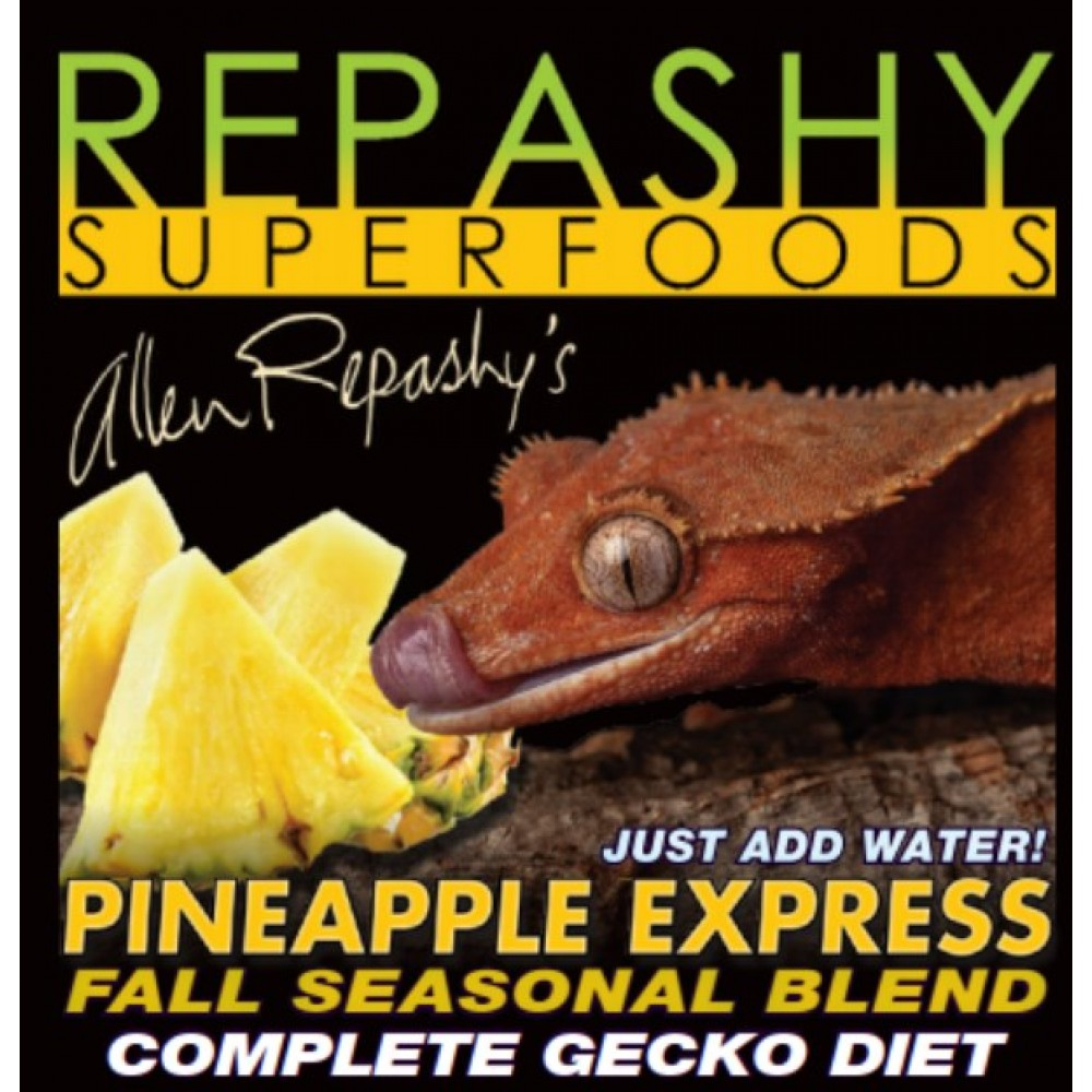 Корм для рептилий Pineapple Express REPASHY 170гр