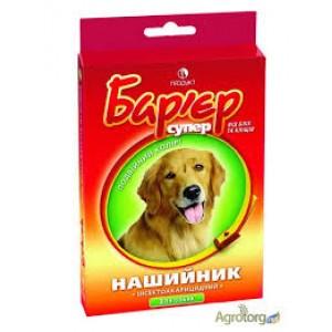 Барьер ошейник для собак от блох и клещей
