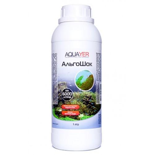 Кондиционер для борьбы с водорослями AQUAYER АльгоШок 1л