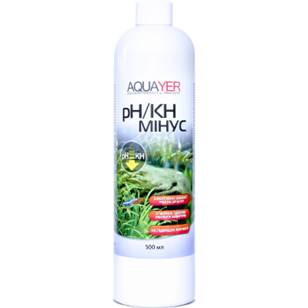 AQUAYER pH / KH мінус 500мл