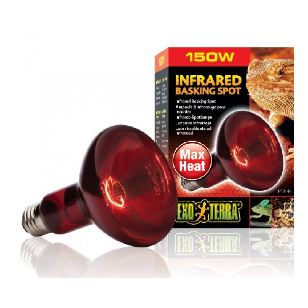 Лампа для террариума Exo Terra инфракрасная R30 150W (PT2146)