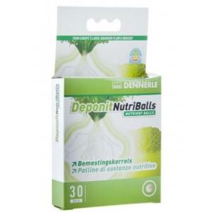 Добриво для акваріумних рослин Dennerle Deponit NutriBalls кореневе 30 шт (4559)