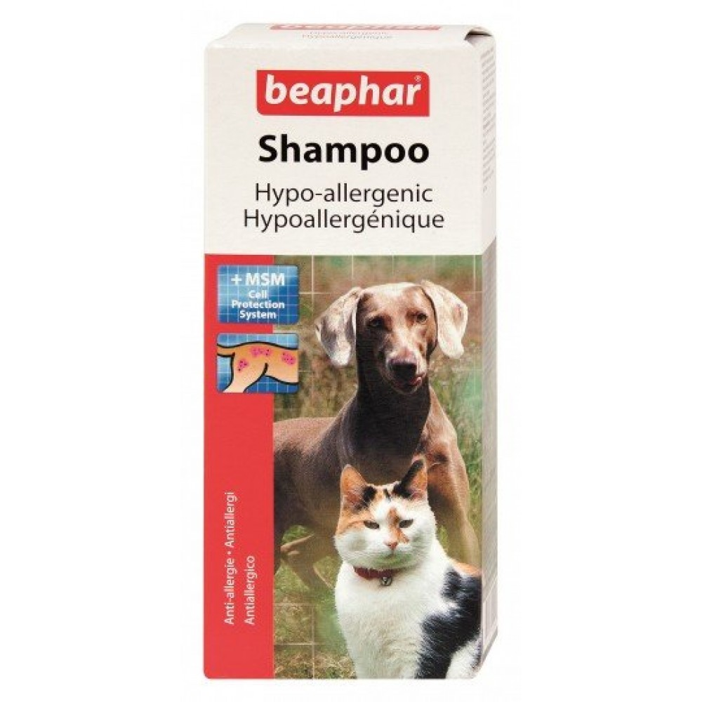Шампунь против аллергии для собак и котов 200 мл 15290