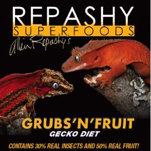 Grub N' Fruit Gecko Diet REPASHY 84 гр