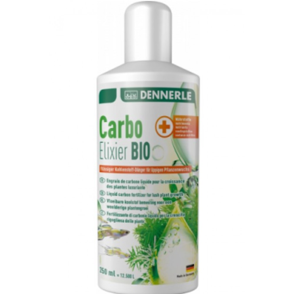 Удобрение для аквариумных растений Dennerele Carbo Elixier BIO 250мл (3111)