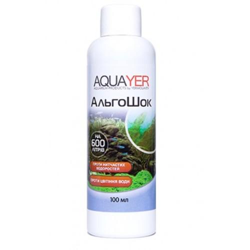 Кондиционер для борьбы с водорослями AQUAYER АльгоШок 100мл