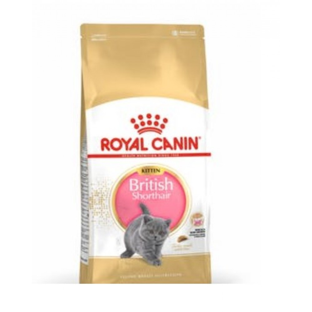 Royal Canin Kitten BRITISH SHORTHAIR, 400 гр