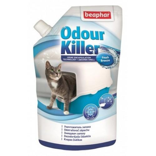 ODOUR Killer уничтожитель запаха лотков 400мл   15234