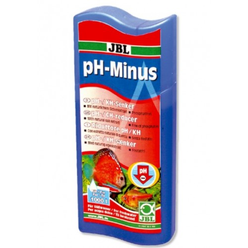 Кондиціонер для зниження рівня pH JBL pH-Minus 100мл/400л (23046)