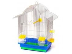 Клітка для птахів Мальва Лорі цинк 330х230х450 мм (Кц049)