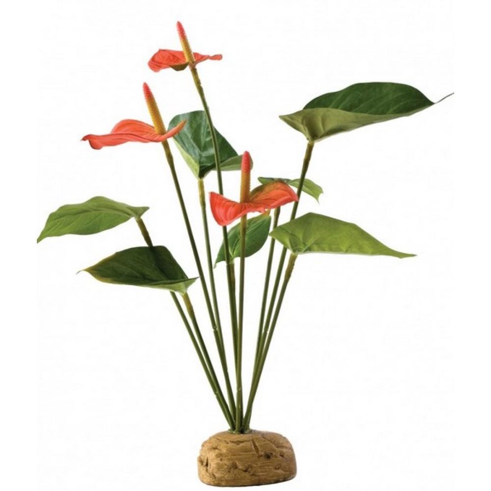 Растение для террариума на подставке Exo Terra Anthurium Bush (PT2992)