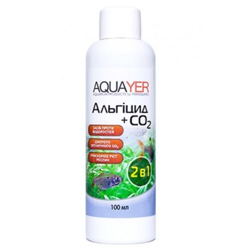 Кондиціонер для боротьби з водоростями AQUAYER Альгіцид + СО2 100мл