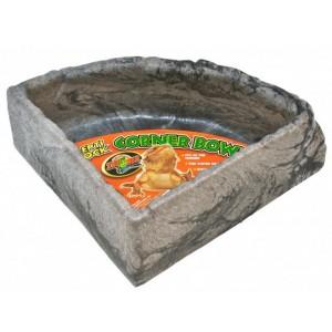 Поїлка для рептилій кутова Zoo-Med Repti Rock Corner Water Dish (ZM-KB-20E)