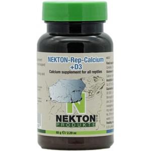Добавка с кальцием и витамином D3 для всех видов рептилий Nekton Rep Calcium +D3 65гр (224075)
