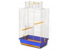 Клітка для птахів Німфа Лорі цинк 470х300х660 мм (КЦ062)
