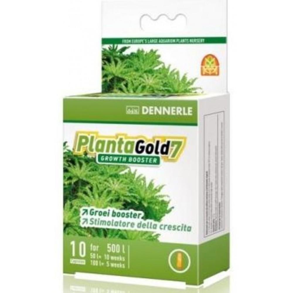 Удобрение для аквариумных растений Dennerle PlantaGold 7 стимулятор роста 10шт (4552)