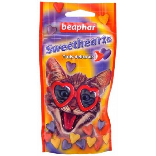 Sweethearts смачні і корисні сердечка для кішок і кошенят 150 шт 16110