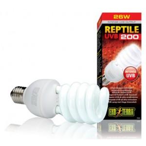 Лампа для тераріуму Exo Terra REPTILE UVB200 26W E27 (PT2341)