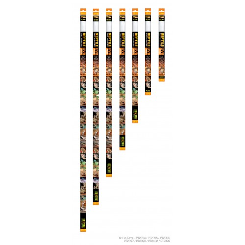 Лампа REPTILE UVB 150 (новая серия 10.0) 15W 45см PT2395