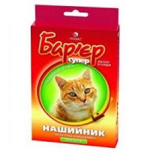Бар'єр нашийник для кішок від бліх і кліщів