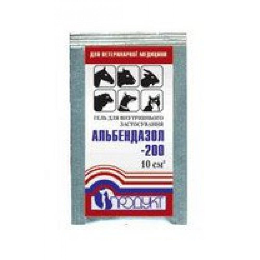 Альбендазол-200 гель