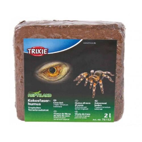 Наполнитель для террариума Trixiе кокосовый субстрат 2л