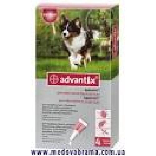 Адвантикс для собак 10-25 кг