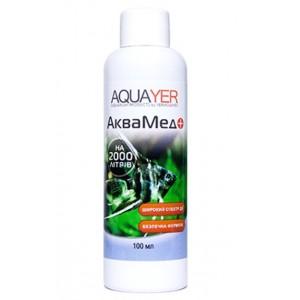 Антибактериальный препарат AQUAYER Аквамед 100мл