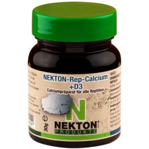 Добавка с кальцием и витамином D3 для всех видов рептилий Nekton Rep Calcium +D3 30гр (224035)